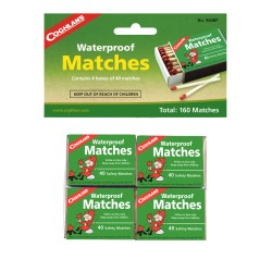 Waterproof Matches, pk of 4 COGHLANS