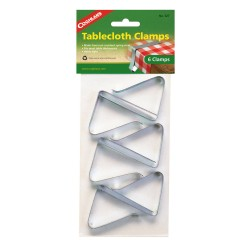 Tablecloth Clamps - pkg of 6 COGHLANS