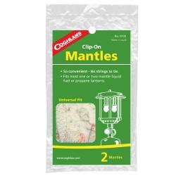 Mantles - Clip-On, pkg of 2 COGHLANS