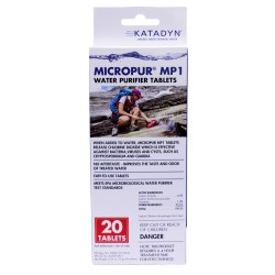 Micropur Tablets (Per 20) KATADYN