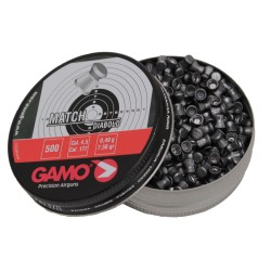 Match Pellets Flat Nose (Per 500) GAMO