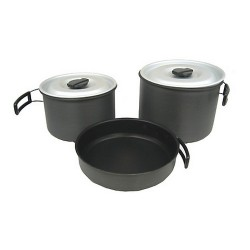 Ridge Hard Anodized Cookset, XL CHINOOK