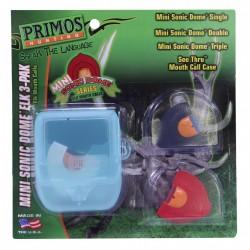 Mini Sonic Dome Elk 3-Pak PRIMOS