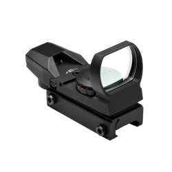 Red/Grn Dot Reflex Sight, Black NCSTAR