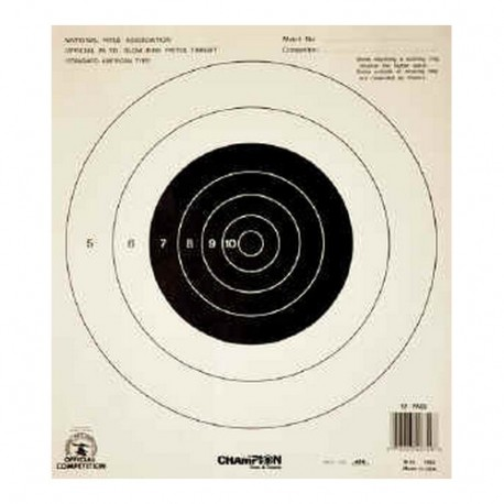 NRA Target 25Yd Slowfire CHAMPION-TRAPS-AND-TARGETS