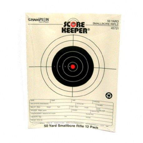 Orange Bull  50Yd Small Bore CHAMPION-TRAPS-AND-TARGETS