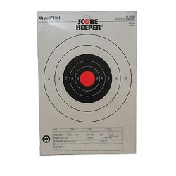 Orange Bull  25Yd Pistol CHAMPION-TRAPS-AND-TARGETS