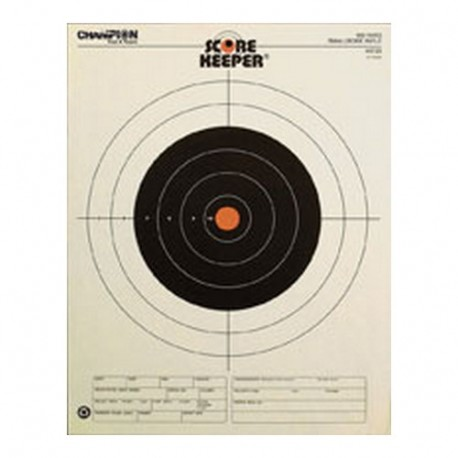 Orange Bull 100Yd Slow Bore CHAMPION-TRAPS-AND-TARGETS