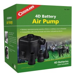 4D Battery Air Pump COGHLANS