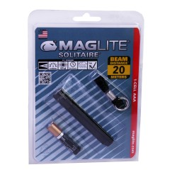 AAA Solitaire Blister Pak, Blk MAGLITE