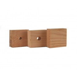 Set of 3 Replacement Oak Bushings WHEELER
