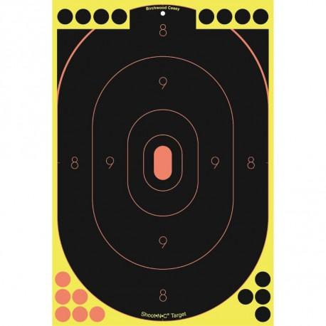 "SO-5 Shoot-N-C 12""x18"" Silh 5 Pk BIRCHWOOD-CASEY"