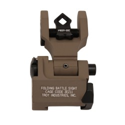 DOA Rear Folding Sight - FDE TROY-INDUSTRIES