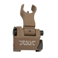 Front Folding HK Style Sight FDE TROY-INDUSTRIES