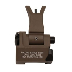 Front Folding M4 Style Sight FDE TROY-INDUSTRIES