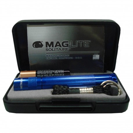 AAA Solitaire Presentaion, R Blue MAGLITE