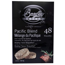 Pacific Blend Bisquettes 48 pack BRADLEY-TECHNOLOGIES