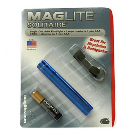 AAA Solitaire Blister, Royal Blue MAGLITE