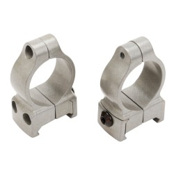 Z-2 Alloy Scope Rings - Medium (Silver) CVA