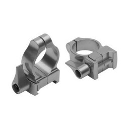 Z-2 Alloy QD Scope Rings - Med (Silver) CVA