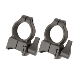 Z-2 Alloy QD Scope Rings - High (Black) CVA