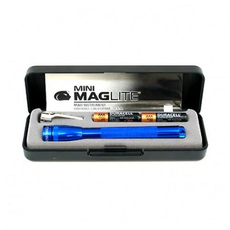 AAA Mini Mag Present-Bat Blue MAGLITE