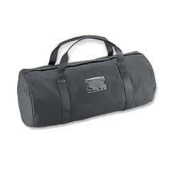 "Duffel 12"" Comp Blk Bag Pln Clr IDHldr HT UNCLE-MIKES"