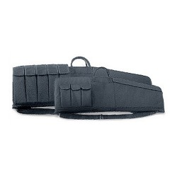 "Rifle Case 33"" Tact Blk Md3 Mag Pouches UNCLE-MIKES"