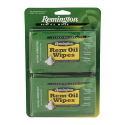 """Rem Oil Wipes (12 Count)6"""" X 8"""" wipes REMINGTON-ACCESSORIES"""