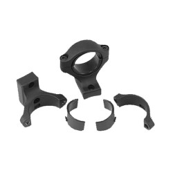 Rifle-700 Integral Scope Mounts,Matte Blk REMINGTON-ACCESSORIES
