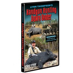 Handgun Hunting Down Under DVD COLD-STEEL