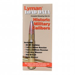 Load Data Book Old Military Calibers LYMAN
