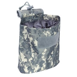 Folding Dump Pouch/Digital Camo NCSTAR