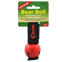 Red Magnetic Bear Bell COGHLANS