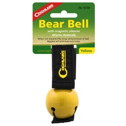 Yellow Magnetic Bear Bell COGHLANS