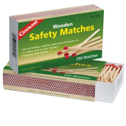 Wooden Safety Matches COGHLANS