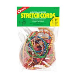 Stretch Cord Asst. - pkg of 12 COGHLANS
