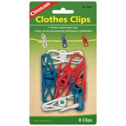 Clothes Clips 8 pk COGHLANS