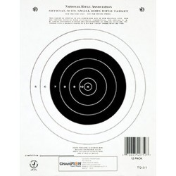 Gtq3/1 50 Yd Single Bullseye (12/Pk) CHAMPION-TRAPS-AND-TARGETS