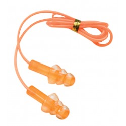 Gel Ear Plugs Corded 2 W/Case CHAMPION-TRAPS-AND-TARGETS