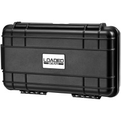 Loaded Gear, HD-50 Hard Case, Black,Strap BARSKA-OPTICS