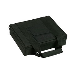 "11""X9"" Blk Nylon 2 Pstl Case BULLDOG-CASES"