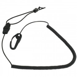 Paddle Leash Blk SEATTLE-SPORTS