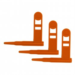 Safety Chamber Flag 3pk Orange Only ERGO
