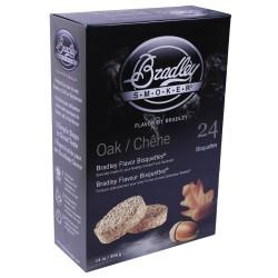 Oak Bisquettes 24 Pack BRADLEY-TECHNOLOGIES