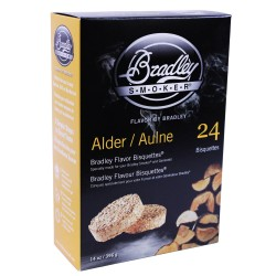 Pacific Blend Bisquettes 24 pack BRADLEY-TECHNOLOGIES