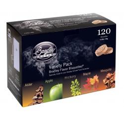 5 Flavor Variety 120 Pack BRADLEY-TECHNOLOGIES