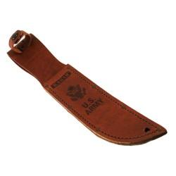 Leather Sheath, Army Logo-Brown KA-BAR