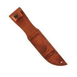 Leather Sheath, Usmc Logo-Brown KA-BAR
