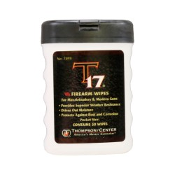 T17 FIREARM WIPES, 50 COUNT THOMPSON-CENTER-ACCESSORIES
